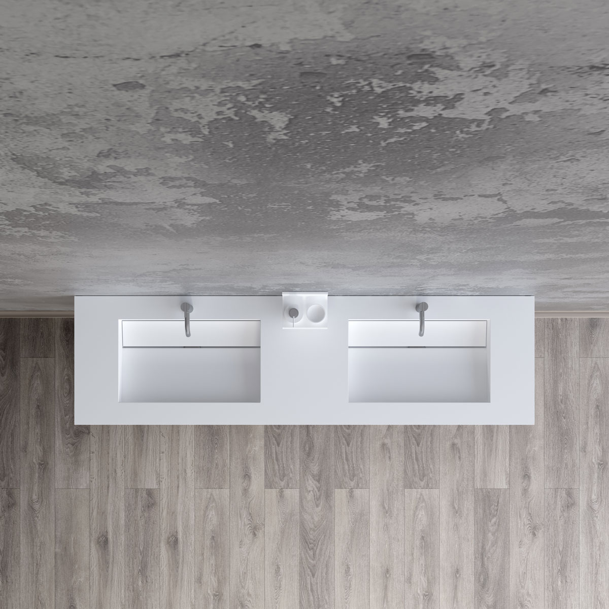 Anholt 160 double wash basin image