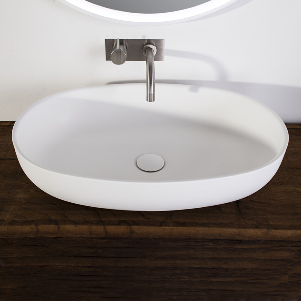 Hornbæk oval wash basin  image