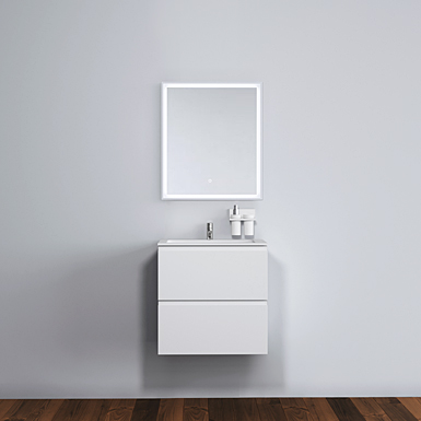 Malmö 60 cabinet with centred basin image