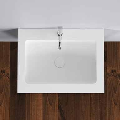 Romsø 60 centred wash basin image