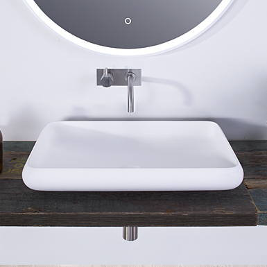 Rosenborg 60 rectangular wash basin image