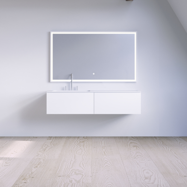 SQ2 120 cabinet with left basin  image