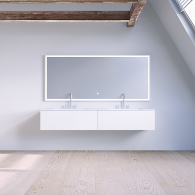 SQ2 160 cabinet with double basin image