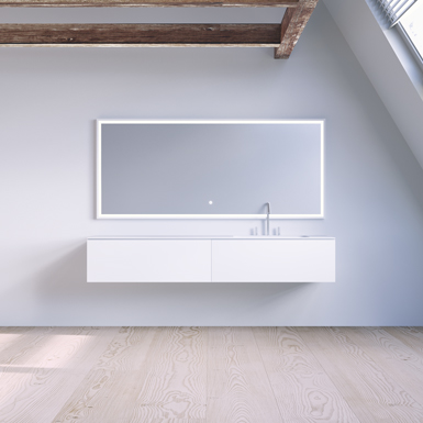 SQ2 160 cabinet with basin right image
